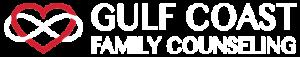 Gulf Coast Family Counseling Logo - White